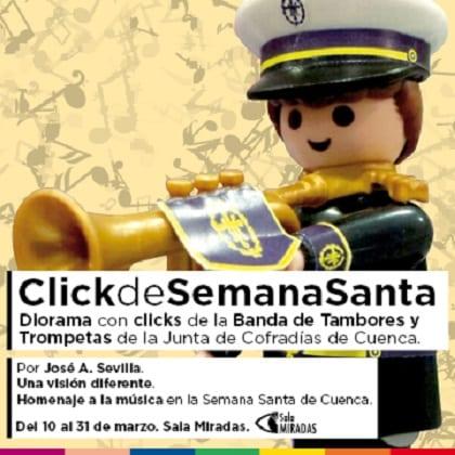 Exposicion Clicks de Semana Santa Cuenca 2016