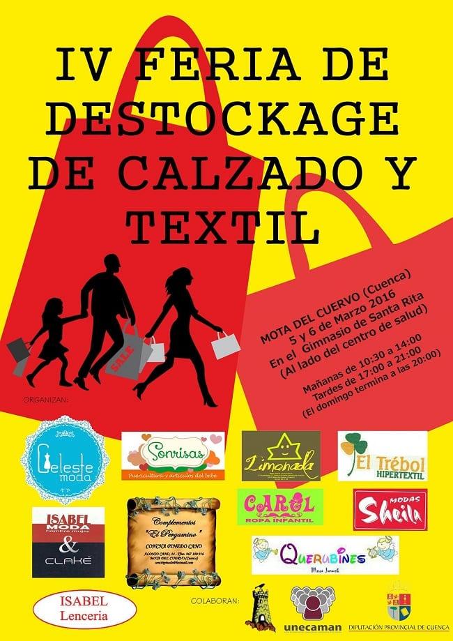 IV Feria Destockage en Mota del Cuervo