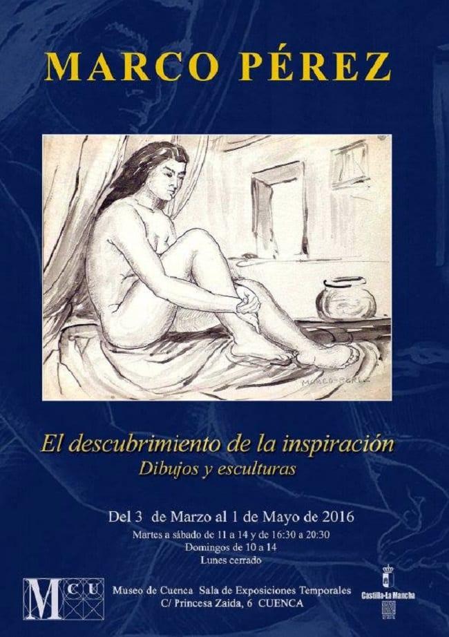 Exposición de esculturas de Marco Pérez en Cuenca
