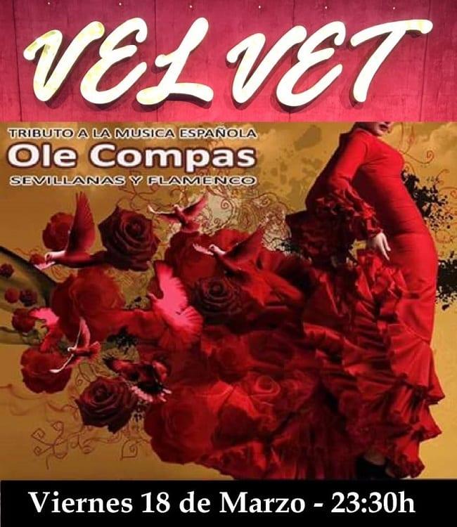 Sevillanas y flamenco en Velvet Cuenca