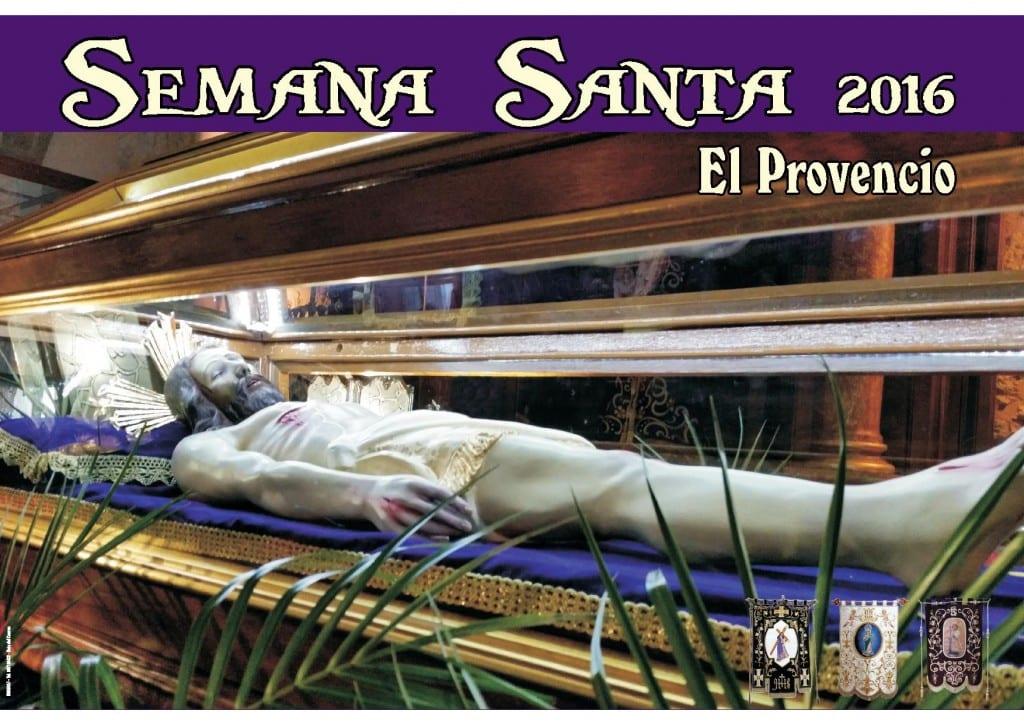 Cartel de la Semana Santa en El Provencio