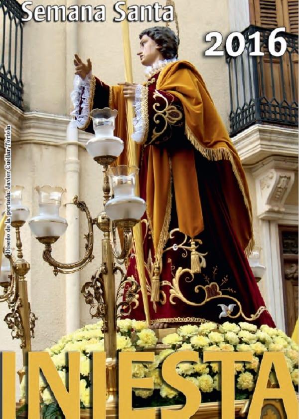 Cartel de la Semana Santa en Iniesta