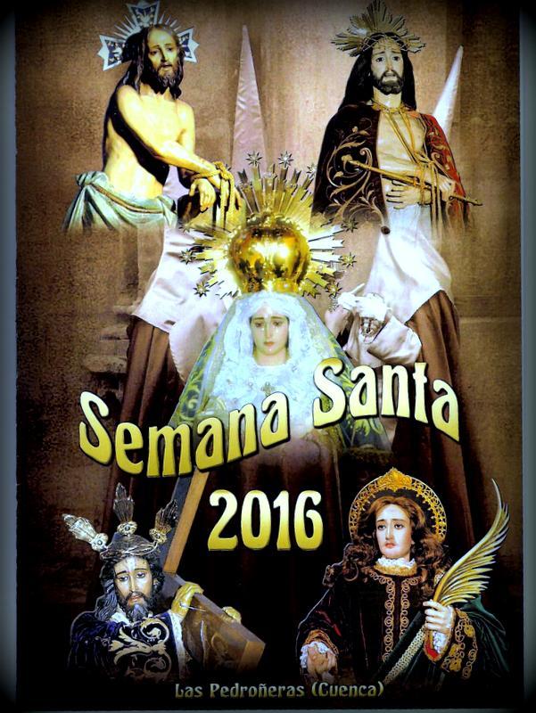 Cartel de la Semana Santa en Las Pedroñeras
