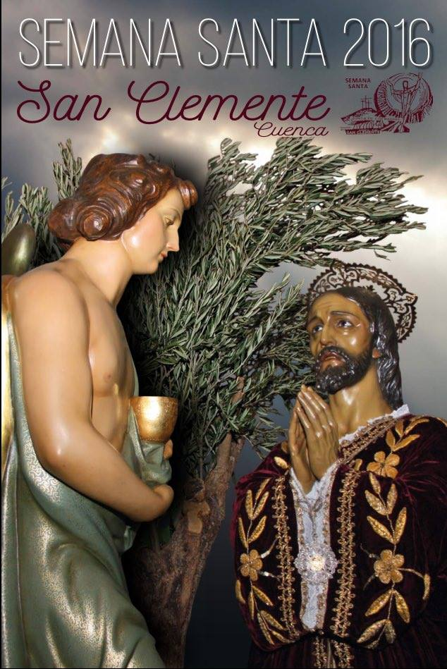Cartel de la Semana Santa en San Clemente