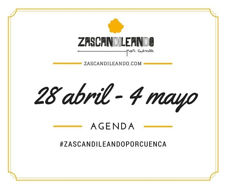 Agenda del 28 de abril al 4 de mayo de 2016 en Cuenca