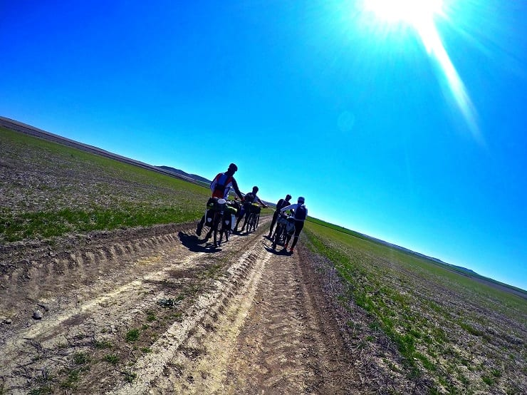 Caminos para ir en bici en Cuenca