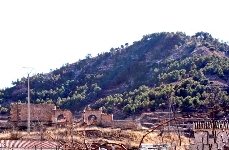 Castillo de Preguezuelo, en Gascueña, Cuenca