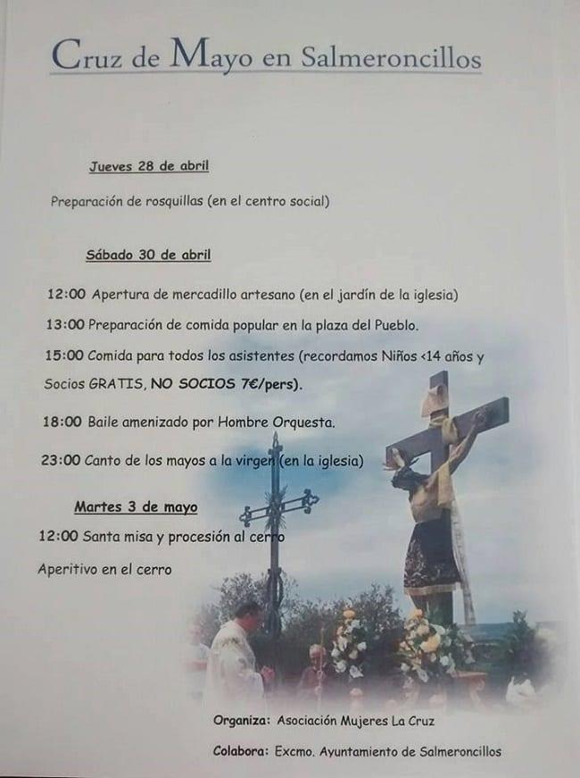 Fiestas de la Cruz de Mayo en Salmeroncillos 2016
