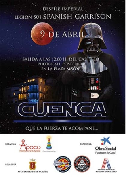 Desfile imperial de Start Wars en Cuenca
