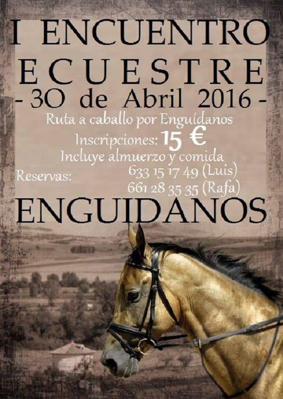 Encuentro Ecueste en Enguídanos 2016