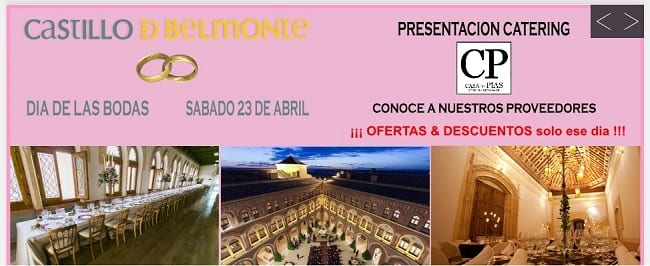 Feria de bodas en el Castillo de Belmonte