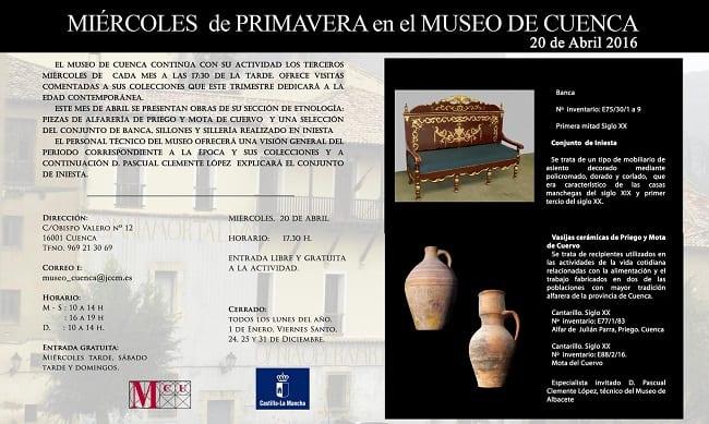 Miércoles de primavera en el Museo de Cuenca