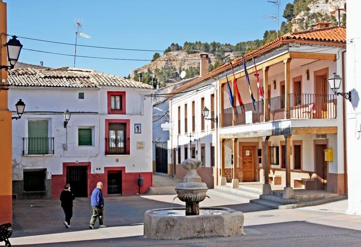 Plaza principal de Gascueña, Cuenca