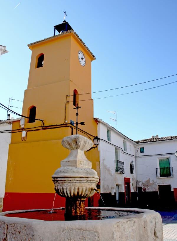 Torre del Reloj, Gascueña (Cuenca)