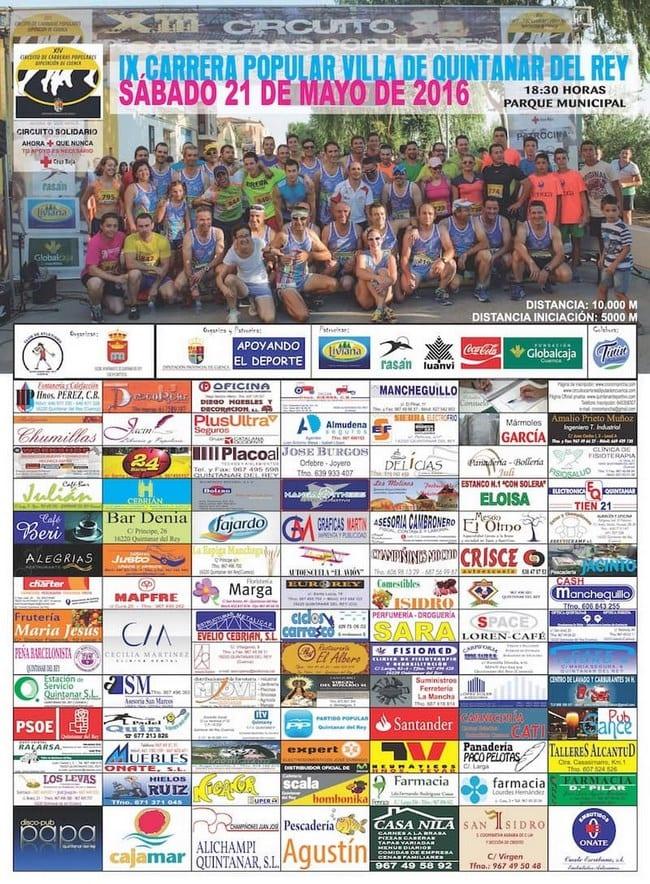 IX Carrera Popular en Quintanar del Rey