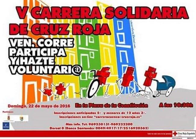 Carrera solidaria de la Cruz Roja