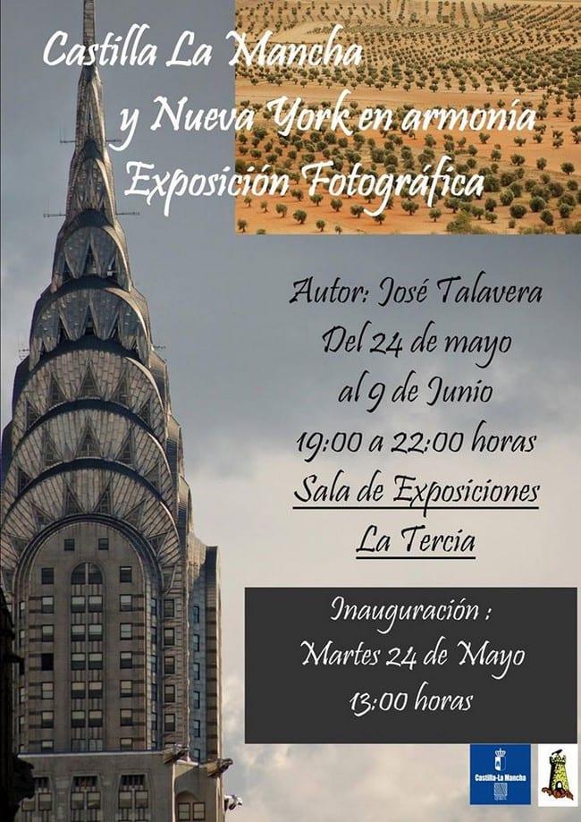 """Exposición en Mota del Cuervo """"Castilla-La Mancha y Nueva York, en armonía"""""""