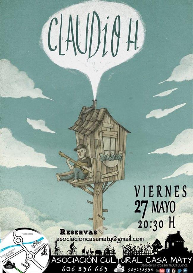 Concierto de Claudio H en Casa Maty