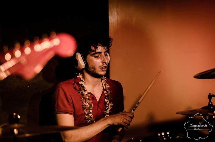 Juli, batería del grupo conquense Gatomidi