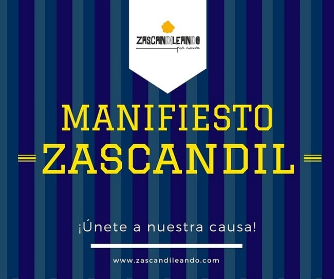 Manifiesto zascandil