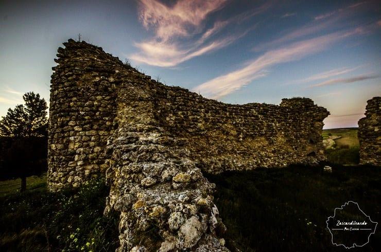 Restos del Castillo de Fuentes en Cuenca