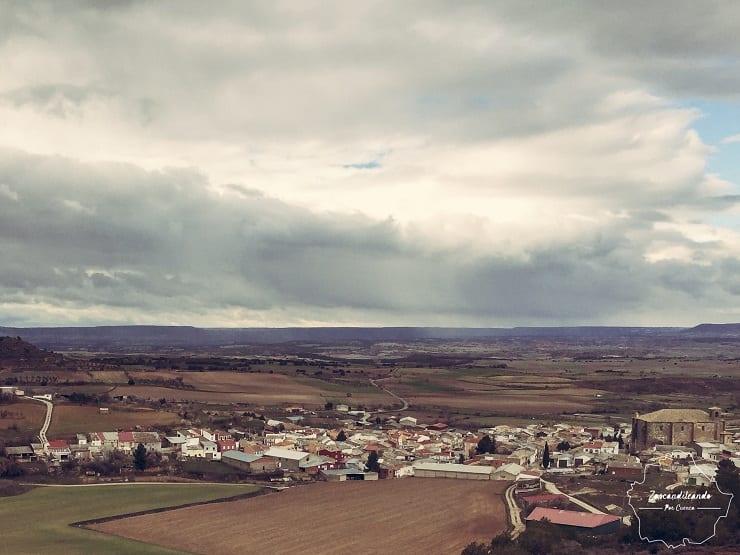 Vistas desde San Mamés, en Canalejas del Arroyo