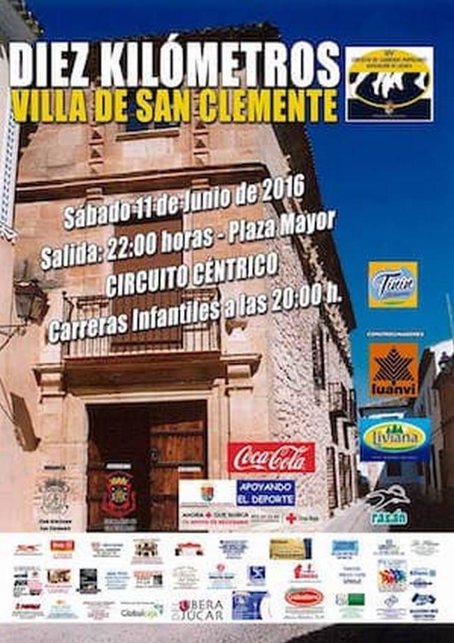 Carrera Popular en San Clemente (Cuenca)