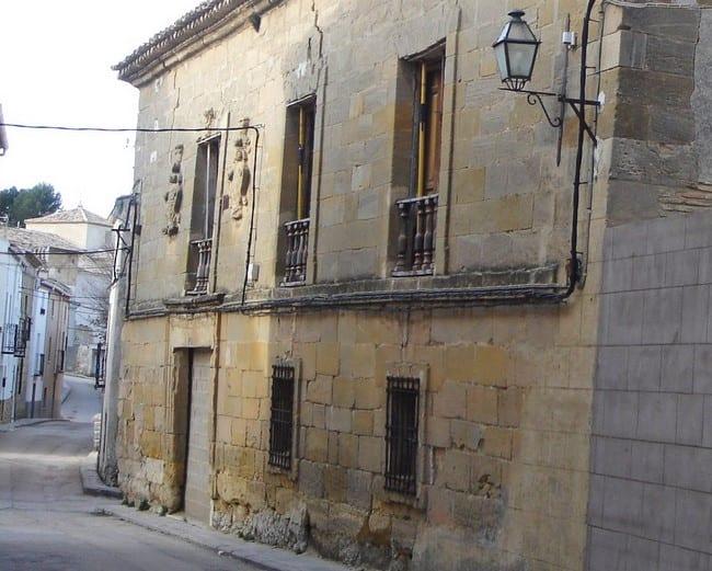 Casa de los Linajes, en Huete (Cuenca)