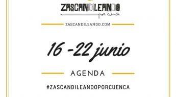 Agenda del 16 al 22 de junio de 2016 en Cuenca