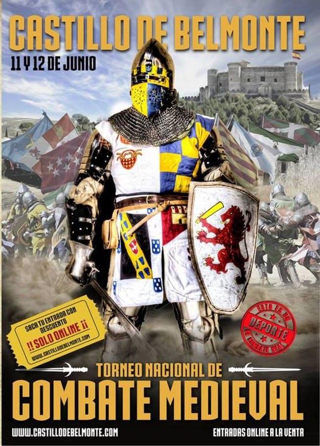 Torneo de Combate Medieval en el Castillo de Belmonte, Cuenca