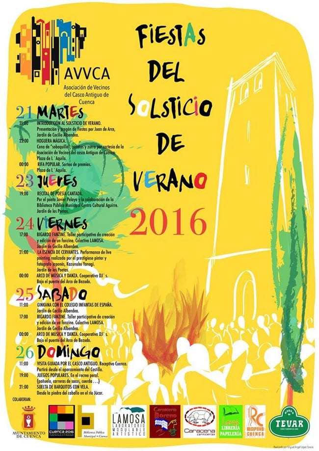 Fiestas organizadas por la AVVCA