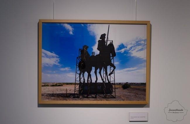 Don Quijote y Sancho Panza en Villarta de San Juan