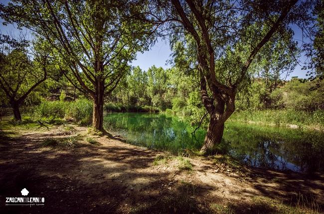 Río Guadiela, lugar de baño