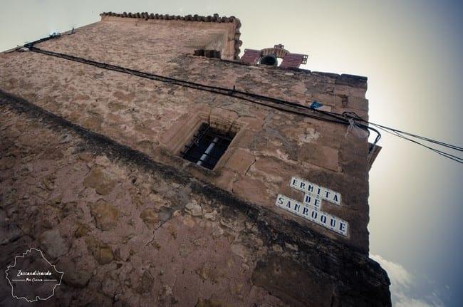 Ermita de San Roque en Olivares de Júcar