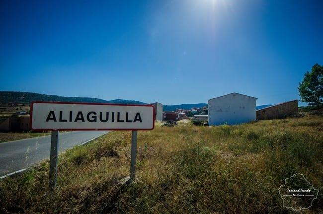 Aliaguilla es un pueblo de Cuenca