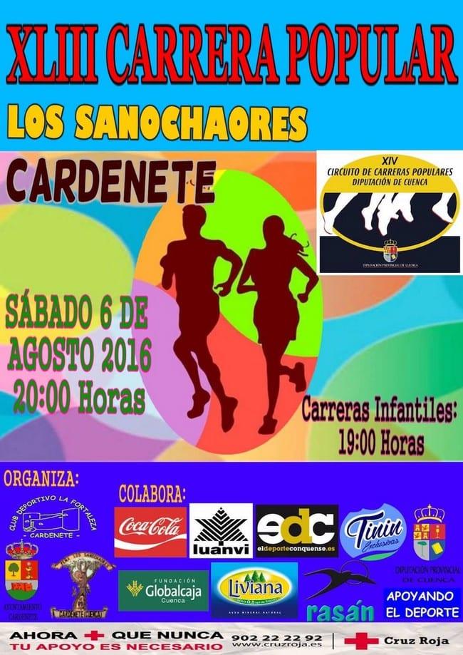 Carrera Popular de Cardenete 2016