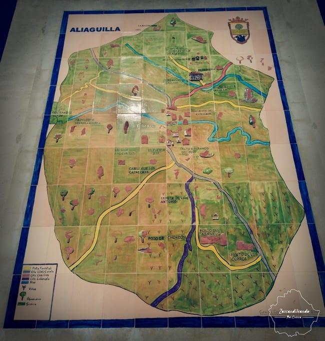 Mapa de Aliaguilla