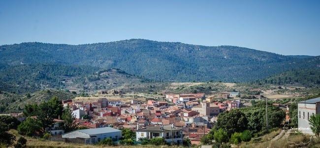 Vistas del pueblo de Aliaguilla
