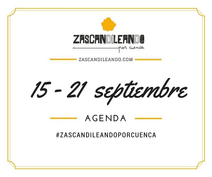 Agenda del 15 al 21 de septiembre de 2016 en Cuenca