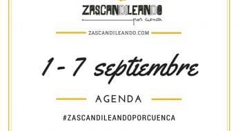 Agenda del 1 al 7 de septiembre de 2016 en Cuenca