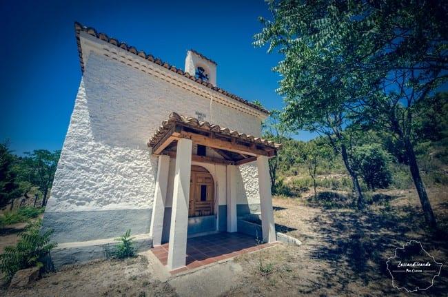 Ermita del Espíritu Santo en Santa Cruz de Moya