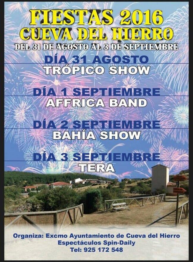 Fiestas de verano de Cueva del Hierro 2016