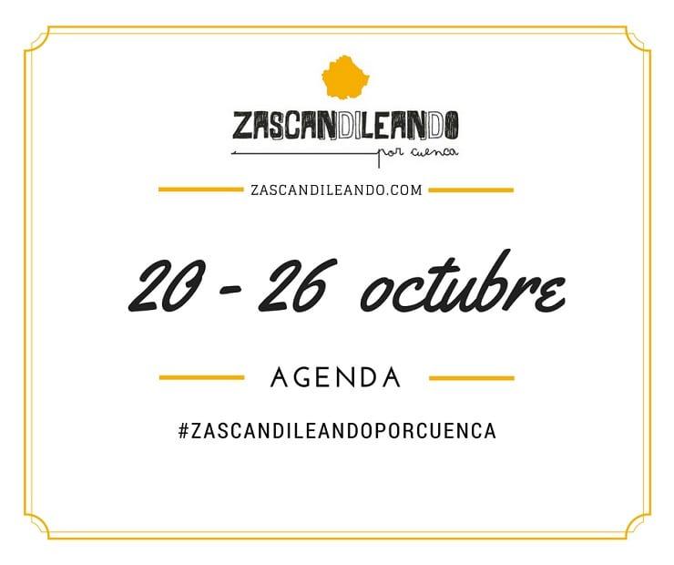 Agenda del 20 al 26 de octubre de 2016 en Cuenca