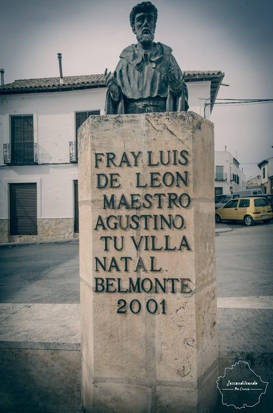 Fray Luis de León, natural de Belmonte