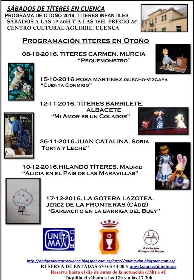 sabados_titeres_cuenca_octubre_diciembre_2016