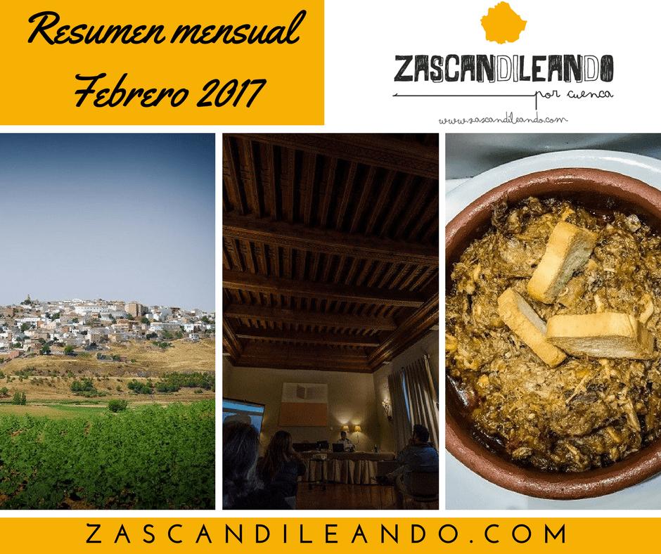 Resumen semanal febrero 2017 Zascandileando