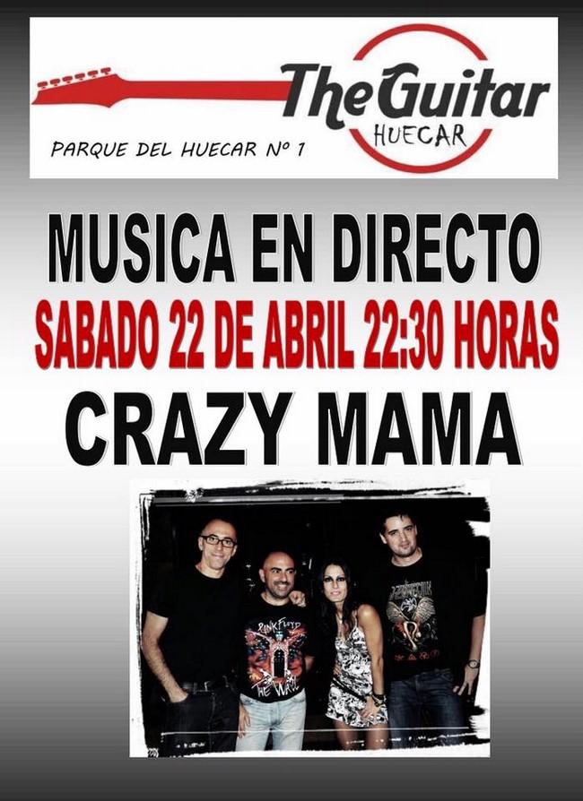 The Guitar Huecar Crazy Mama