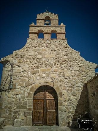 Portada de la ermita de las Angustias en Uclés