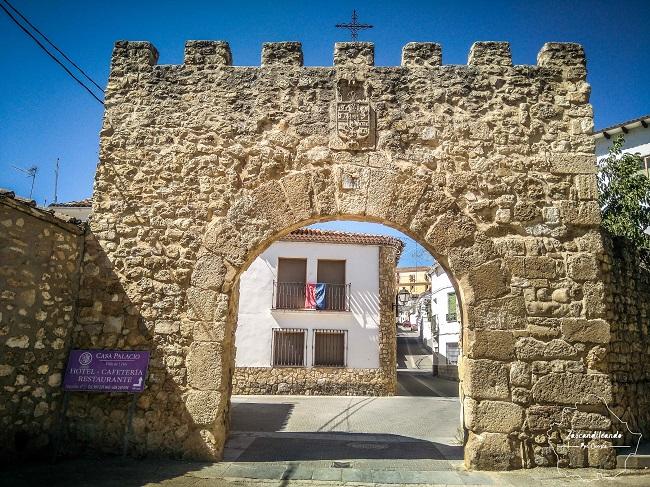 Puerta del Agua, en la villa de Uclés