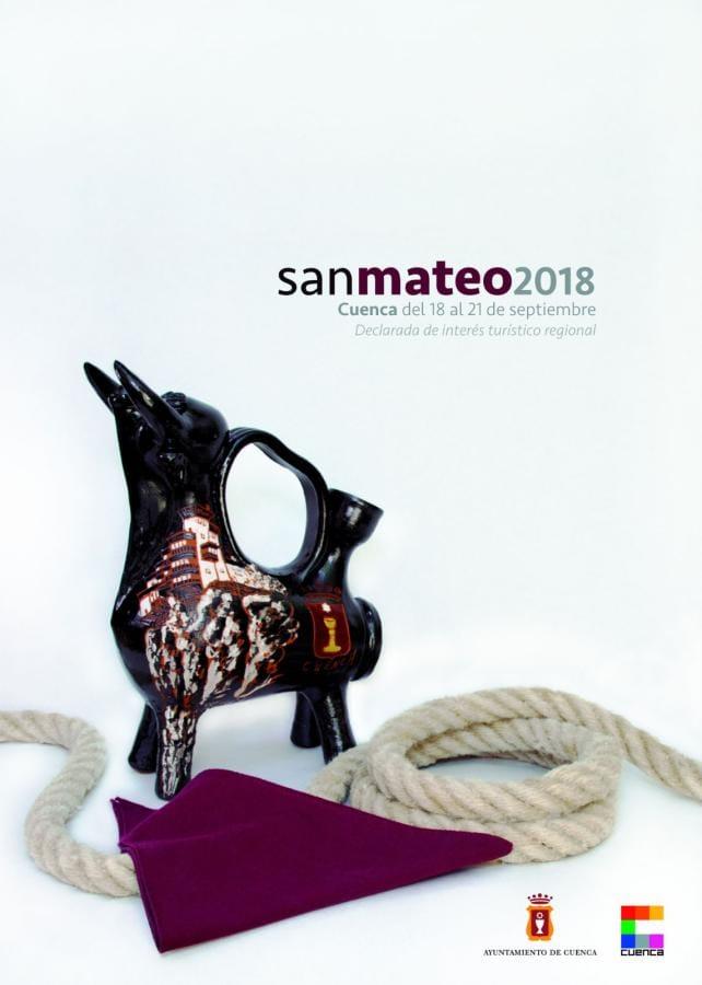 Cartel de las Fiestas de San Mateo 2018 en Cuenca